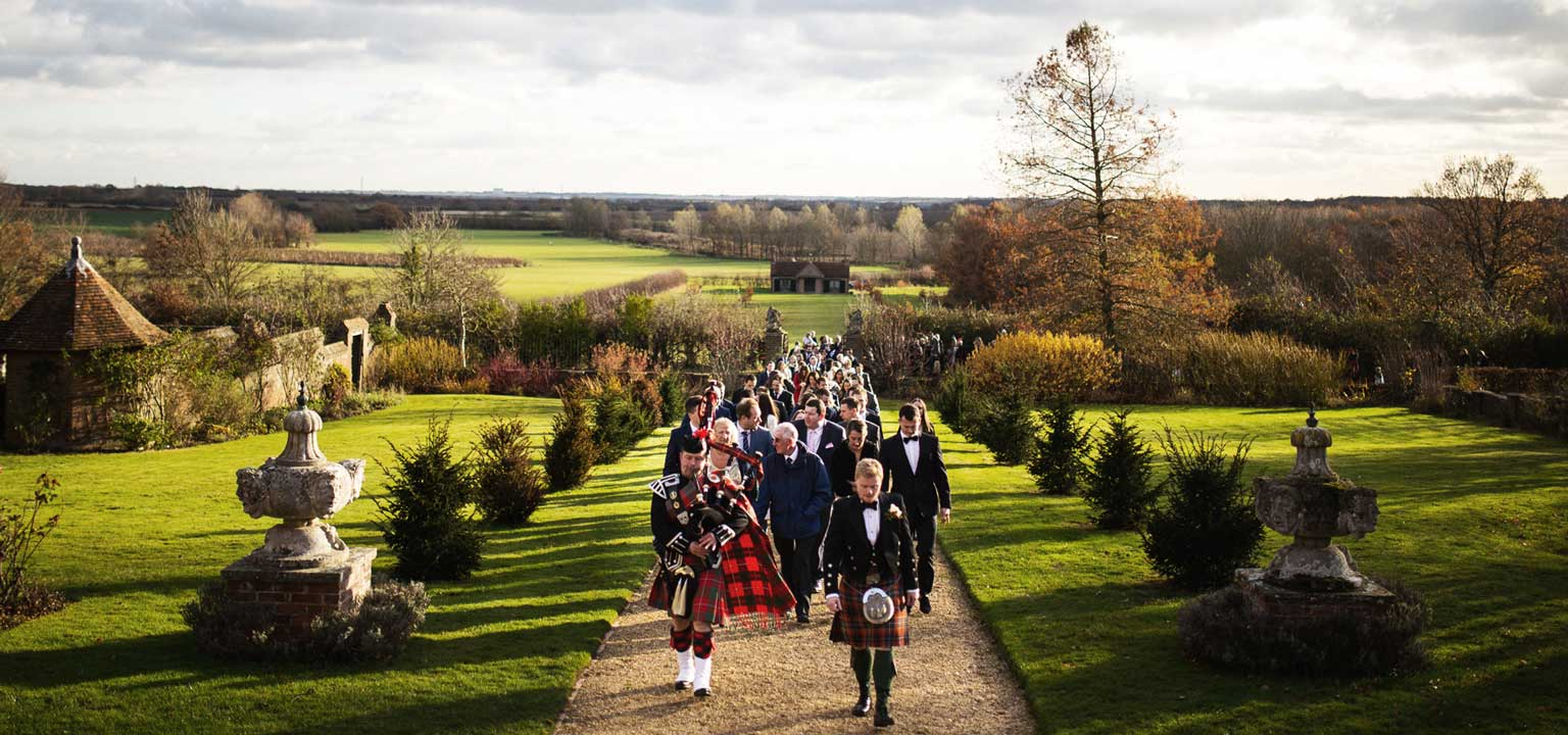 , Roxy and Cameron's Scottish Themed Wedding, Layer Marney Tower Weddings