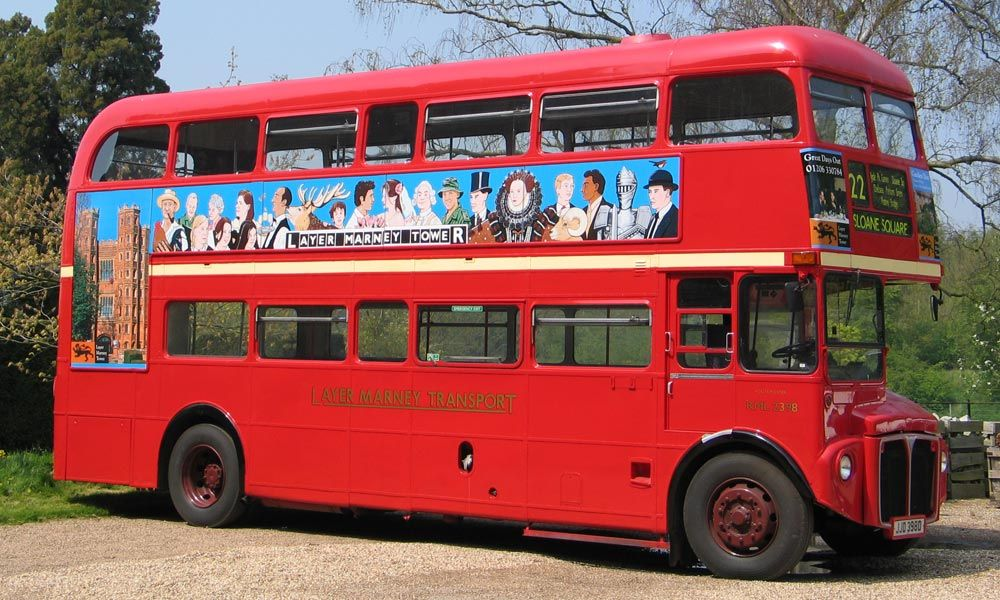 Wedding Routemaster bus