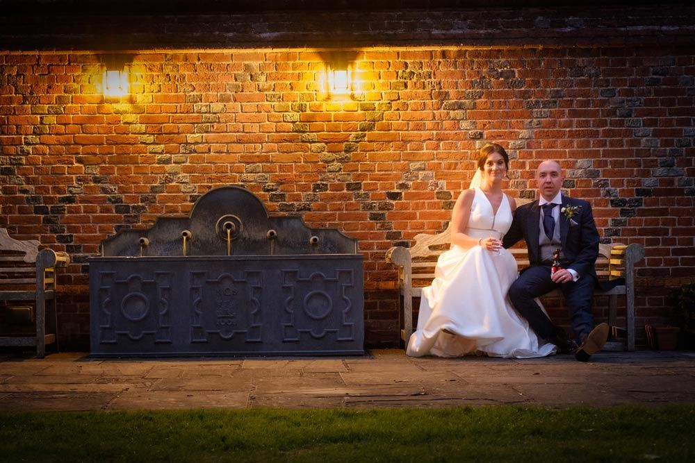 church wedding venue essex, Tara & Jordan's Wedding, Layer Marney Tower Weddings