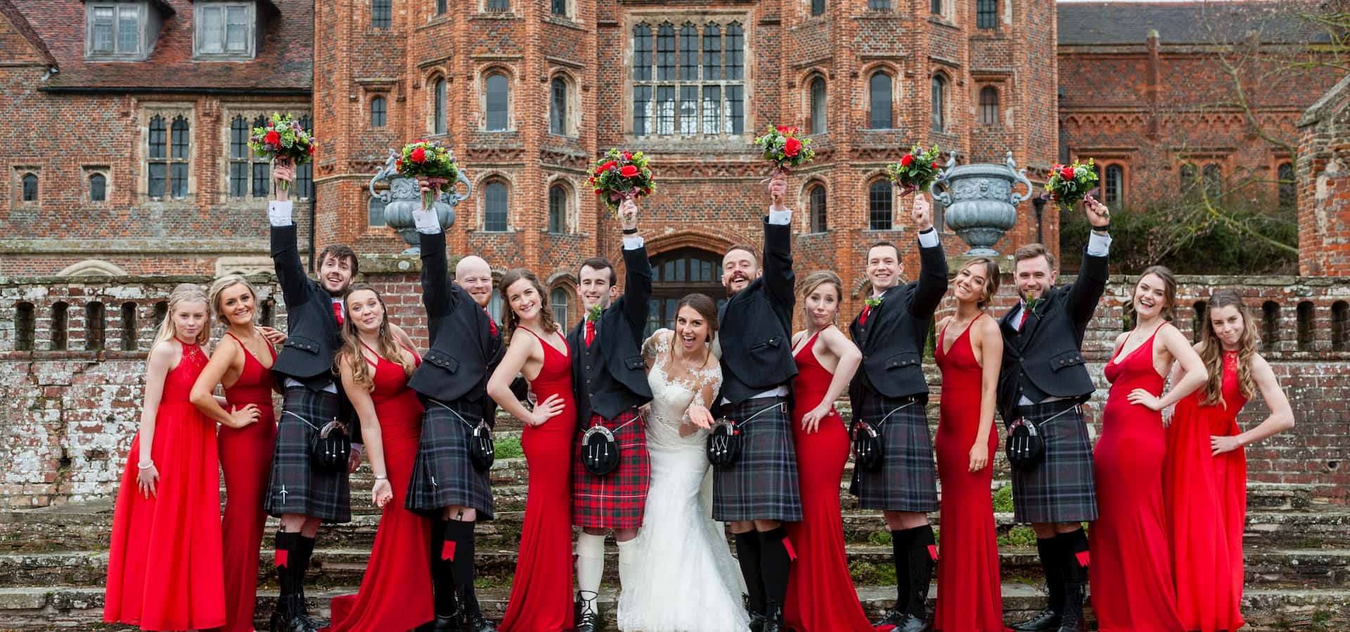 February wedding venue, Katie and David's February Wedding, Layer Marney Tower Weddings