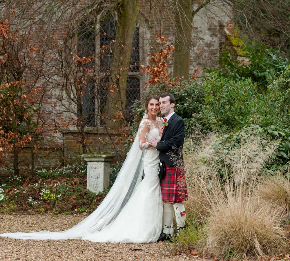 , Katie and David's February Wedding, Layer Marney Tower Weddings