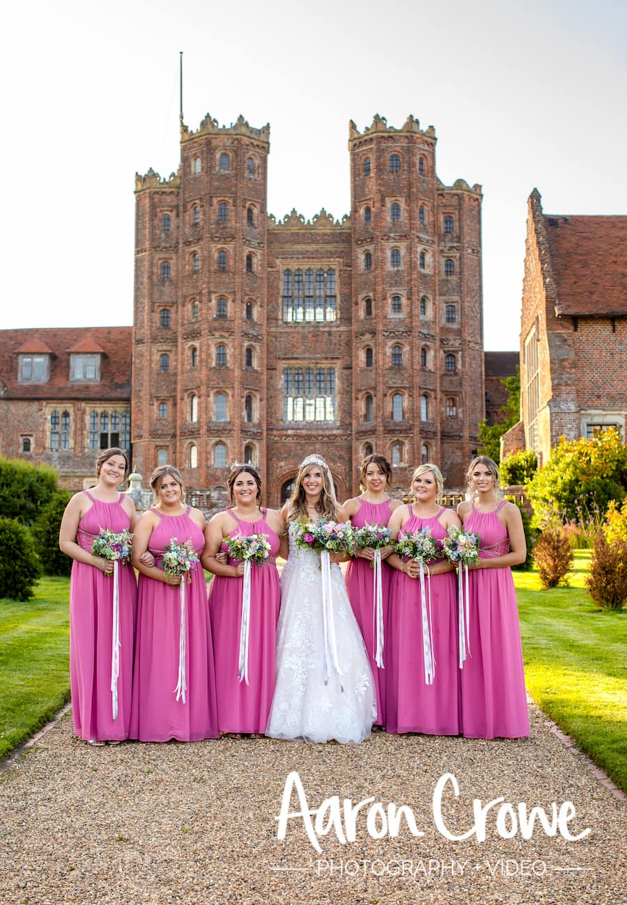 , Rhiannon and Ryan's June Wedding, Layer Marney Tower Weddings