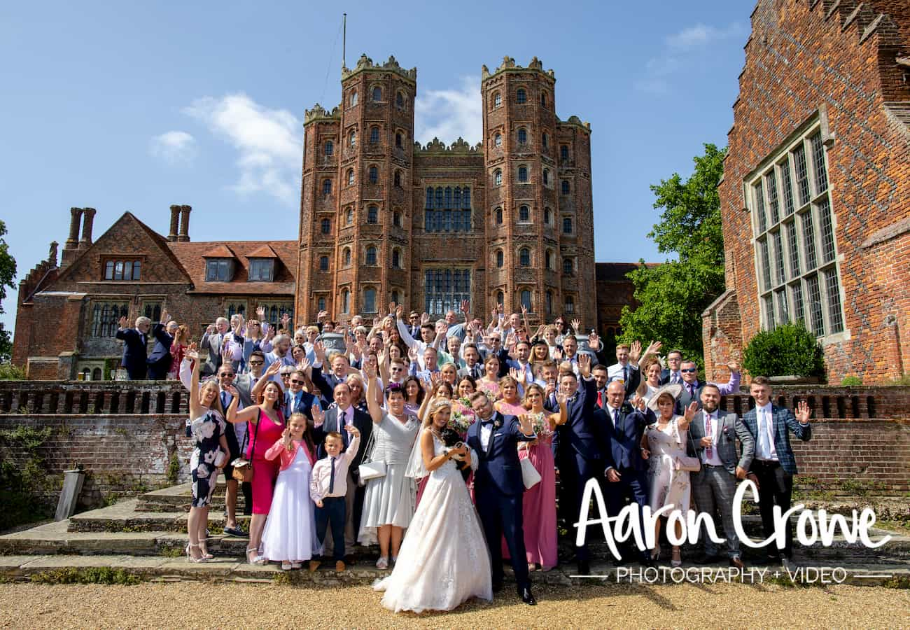 June Wedding, Rhiannon and Ryan's June Wedding, Layer Marney Tower Weddings