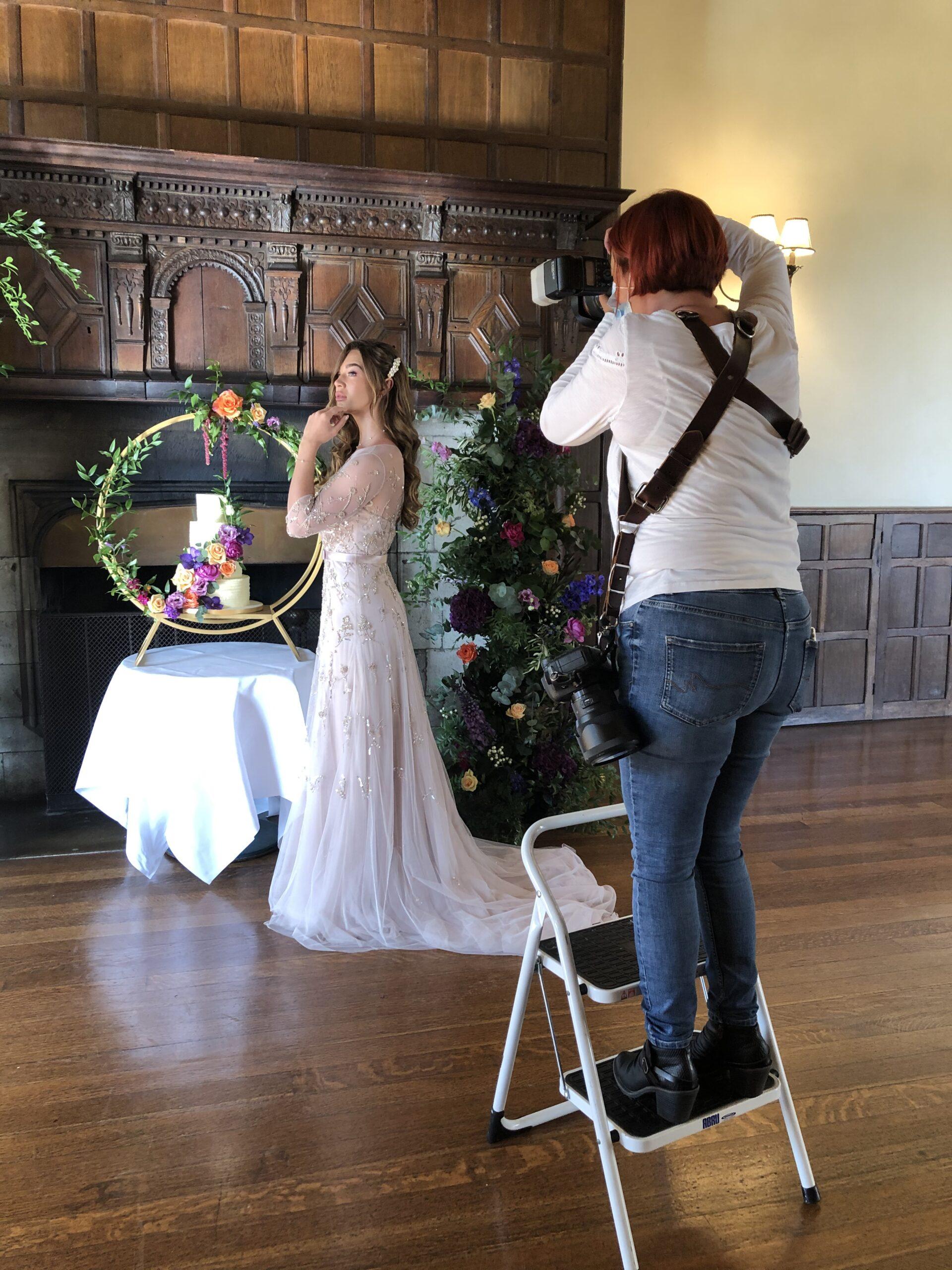 Wedding photographer, photo shoot