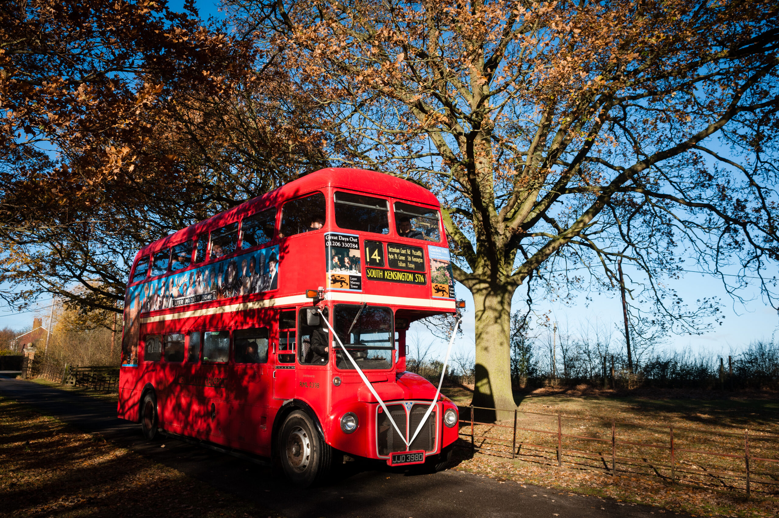 London Routemaster Bus, Traditional Red Bus